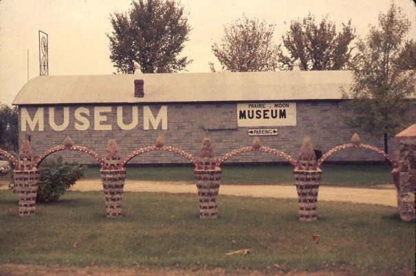 Herman A. Rusch, Prairie Moon Museum and Sculpture Garden